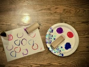 create art at home with your child
