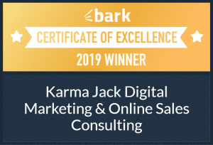 Just Like Bees. . . Certificate of Excellence in Digital Marketing